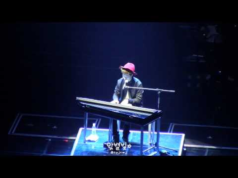 FANCAM찍캠 140809 JYPNation ONE MIC - Moves Like Jagger (Youngjae...