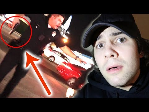 POLICE PULLED GUN ON US!! (PRANK GONE WRONG)