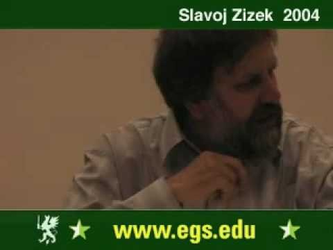 Slavoj Zizek. Plea for Ethical Violence. 2004 4/6
