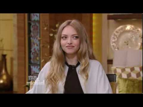 Amanda Seyfried - gorgeous and great legs - Kelly Ripa Show interview