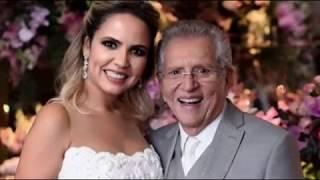 Em programa da Globo Carlos Alberto de Nóbrega, diz o que pensa de Silvio Santos.