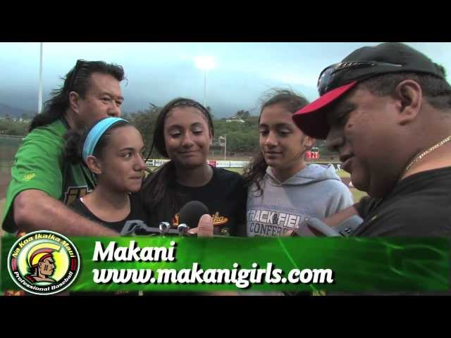 06/18/13 Makani Performing at the Na Koa Ikaika Maui vs. The Santa Rosa Rose Buds
