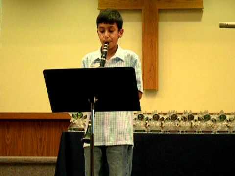 Shashank Sriram Clarinet Recital On 12 12 2010 Accidentally In