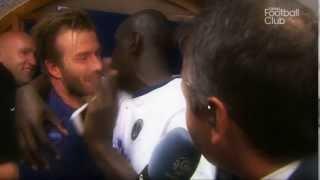 David Beckham se met au Wolof
