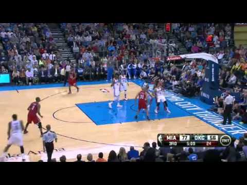 Miami Heat vs Oklahoma City Thunder - February 14, 2013