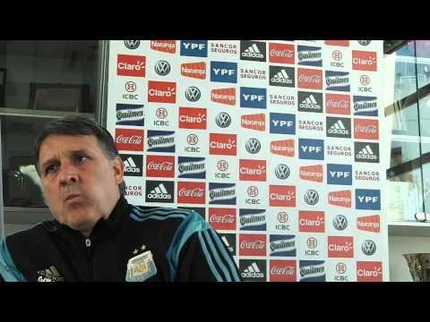 Los Andes mano a mano con Gerardo Martino, DT de la Selección Argentina III
