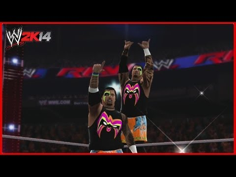 Wwe 2k14 Created Superstars: Jimmy And Jey Uso (4 Attires Each) video