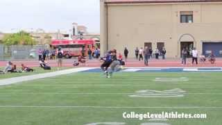 IMG 7v7 West Regional Highlights: 2014 WR DaShawn Gordon (Los Alamitos) - CollegeLevelAthletes.com