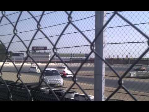 Tandas Privadas Jarama 3/3/12 Accidente Clio sport