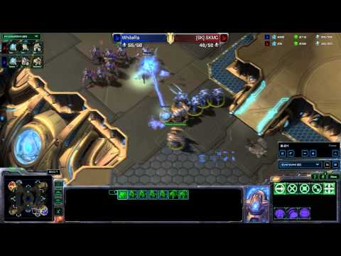 HD Starcraft 2 MC v WhiteRa PvP Heart of the Swarm