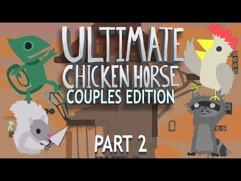 MANSION WOES   Ultimate Chicken Horse Gameplay Part 9