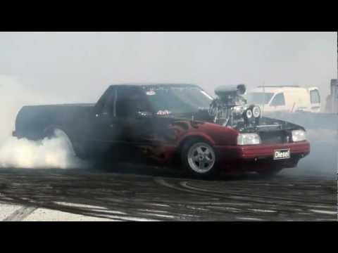 Wagin Burnouts 2012 - Diesel's new 900rwhp Blown Methanol Combo