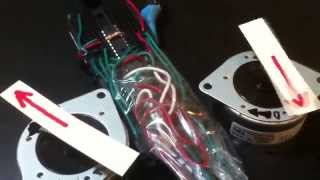 PICAXE 18M2 Control of Two Stepper Motors
