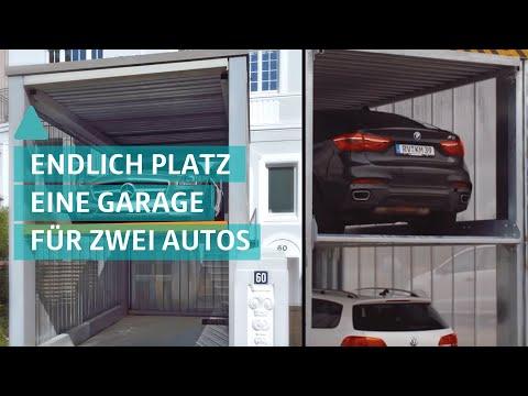 Geniales Garagen-System: Nie mehr Parkplatznot - Unterflursysteme
