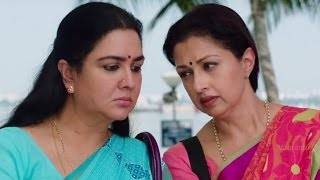 Urvasi and Gautami Super Funny scene with Saree vendor || Vismayam Malayalam Movie