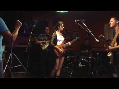 Strangle hold cover by the Mike Wasson Band featuring Krista Hess