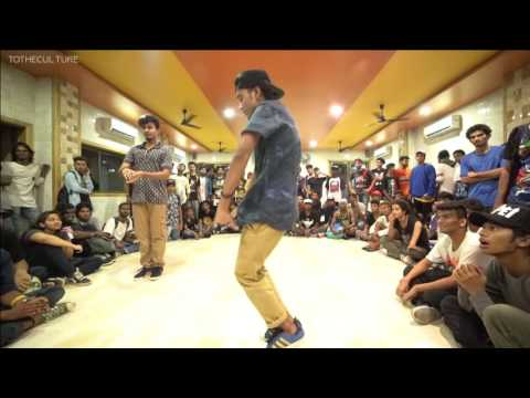 Popping semi's Vineet vs Manish - House Of HipHop India Tour