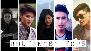 Top 5 Music Videos of the Month | Jan-April ,2016 | Hit Bhutanese TopX