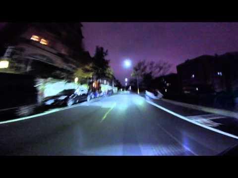 GoPro HERO 4 Session 輕巧版:機車行車記錄器夜間範例