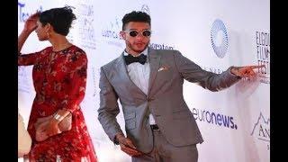 فضيحة احمد الفيشاوي في مهرجان الجونه السينمائي يقول لفظ خارج ويحرج الموجودين