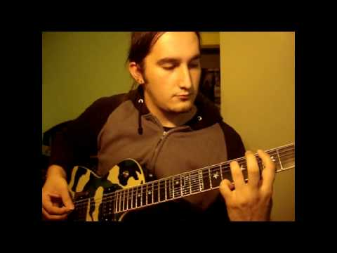 The Black Dahlia Murder - Everything Went Black (Guitar Cover)