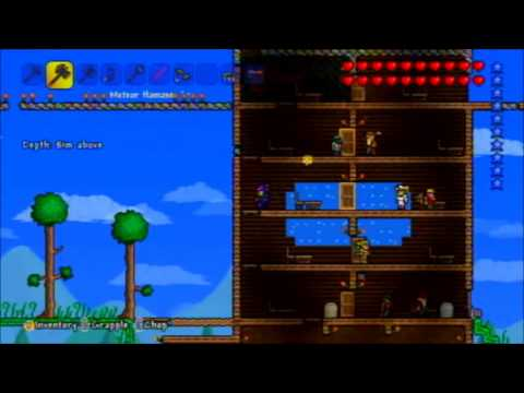 Floating Islands - Terraria - Xbox 360 edition (easy)