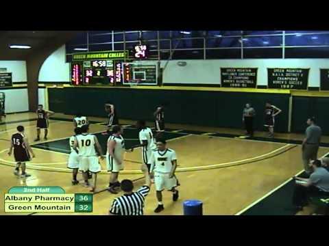 Albany Pharmacy vs. Green Mountain College Men's Basketball