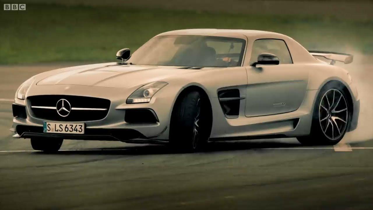 Petrol Vs Electric Mercedes Sls Amg Battle Top Gear