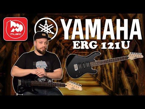 Электрогитара YAMAHA ERG-121U - гитара для начинающих