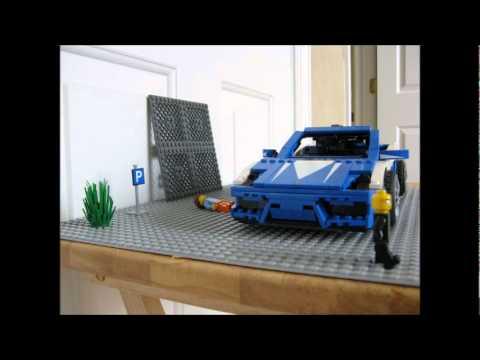 Police Car Lego Lego Lamborghini Police Chase