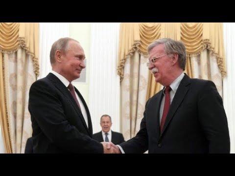 Bolton visits Russia ahead Trump-Putin Summit