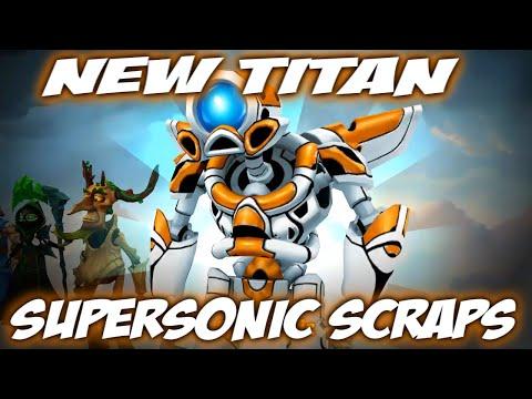 Spellbinders │New Titan - Supersonic Scraps