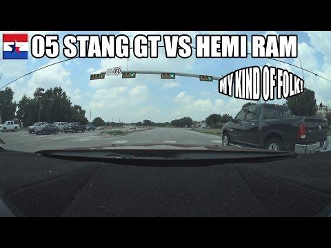05 Stang GT VS HEMI RAM 1500