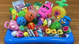 MIXING RANDOM THINGS INTO SLIME!!! MOST SATISFYING SLIME VIDEO!!