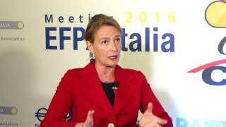 EFPA Italia MEeting 2016, intervista Maria Carmela Ostillio, SDA Bocconi School of Management