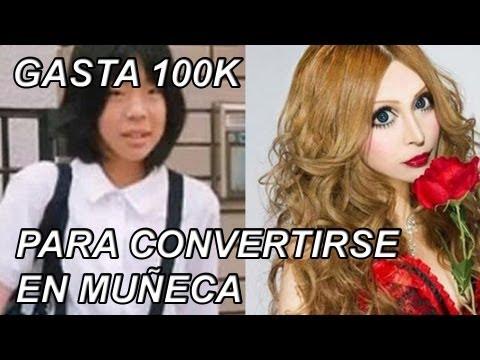 JOVEN ASIATICA GASTA MAS DE 100K PARA PARECER MUÑECA FRANCESA