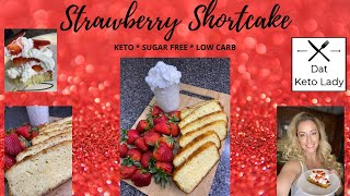 Strawberry Shortcake Keto * 4 Net Carbs