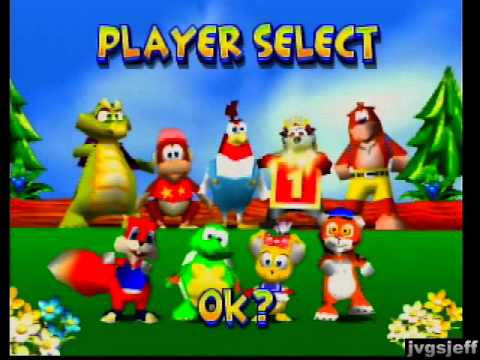 Diddy Kong Racing Characters Diddy Kong Racing Fun With