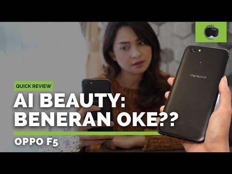Review OPPO F5 Indonesia: AI Beauty Beneran Oke?