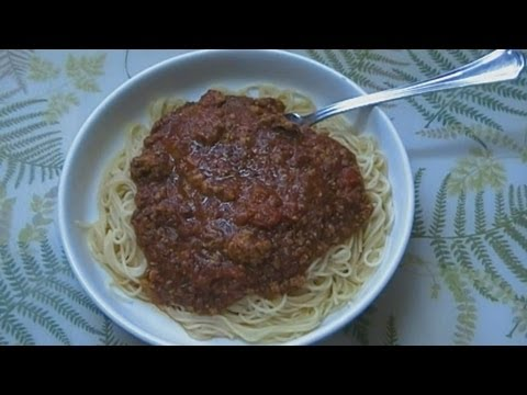 Prepper&#8217;s Pantry Spaghetti Dinner Entirely From Food Storage! Noreen&#8217;s Kitchen