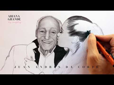 Drawing Frank and Ariana Grande By Juan Andres