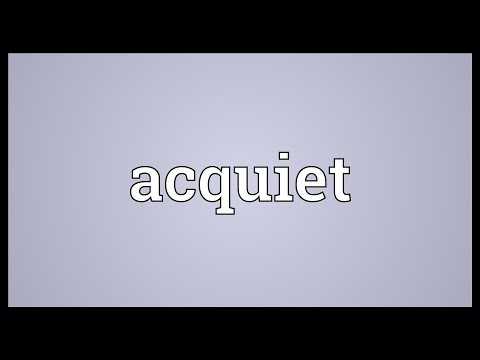 Header of Acquiet