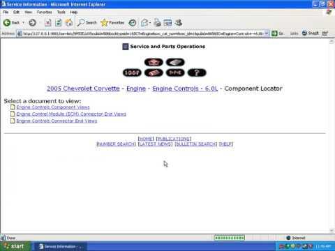 GM Techline eSi Service Manual Video Install Guide DVD