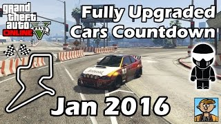 Fastest January 2016 DLC Vehicles - Best Fully Upgraded Cars In GTA Online