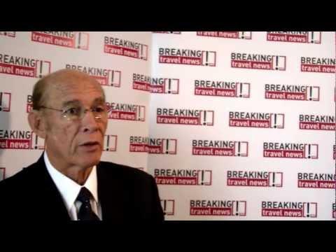 Michael Cambell, Managing Director, Island Car Rentals, Jamaica @ WTM 2012