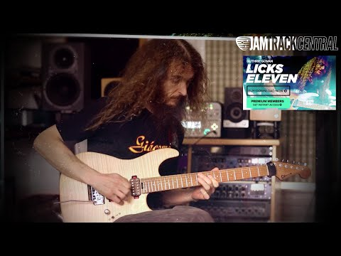 *brand New* Guthrie Govan 'licks Eleven' At Jamtrackcentral video