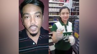 Edi Rejang apologises to beer promoter, Malaysians