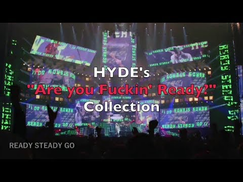 """[HYDE] """"Are You Fuckin' Ready?"""" Collection [READY STEADY GO]"""