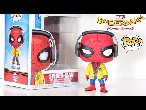 """SPIDER-MAN with HEADPHONES"" Funko Pop! Review 