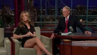 Jennifer Aniston David Letterman